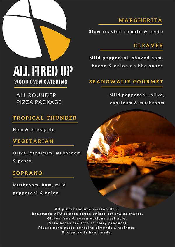 View All Rounder Menu